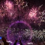 Ano novo na London Eye!