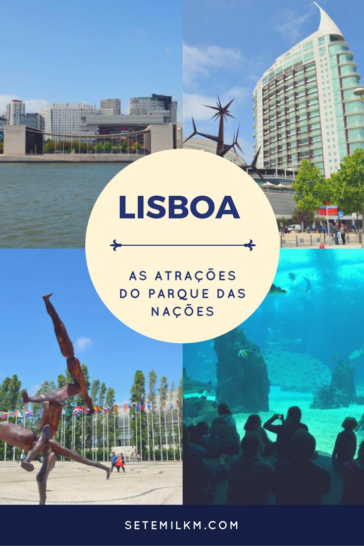 Lisboa - As atrações do Parque das Nações