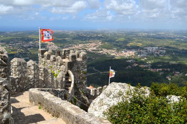 Castelo dos Mouros - Um dia em Sintra