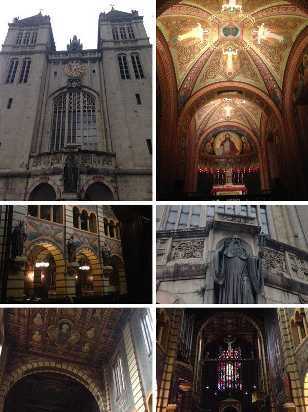 Primeira viagem pra São Paulo - Mosteiro de São Bento