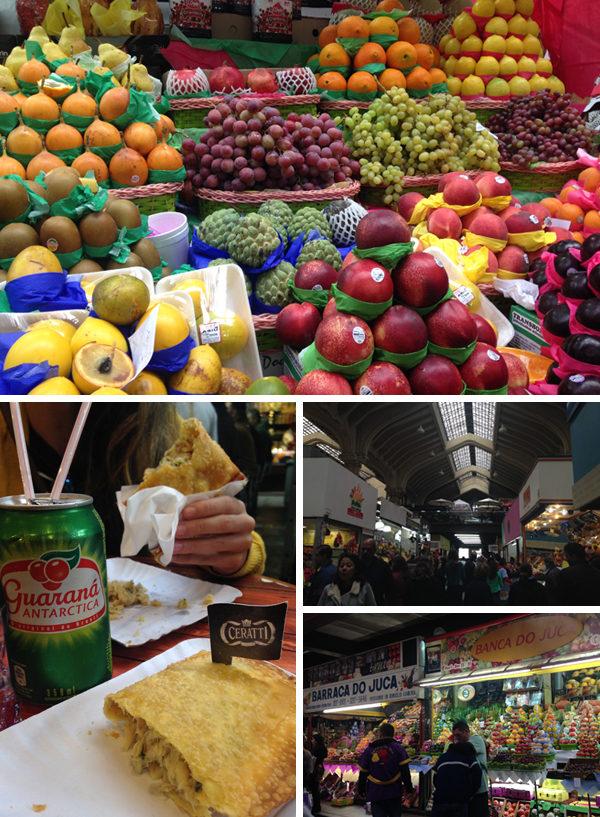 Primeira viagem pra São Paulo - Mercado Municipal