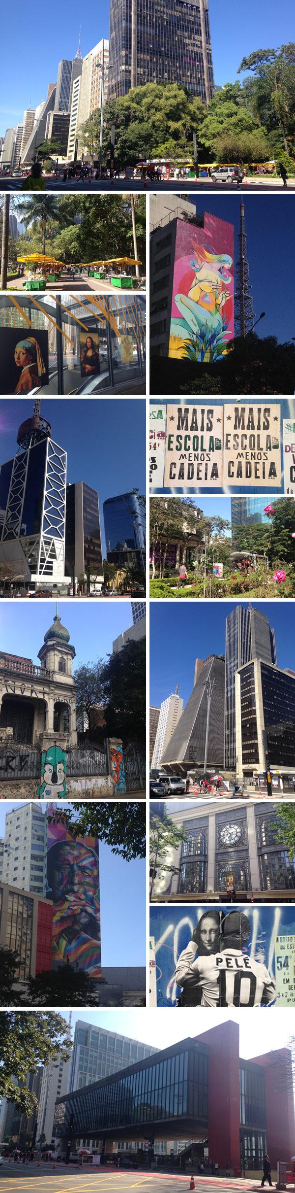 Primeira viagem pra São Paulo - Avenida Paulista