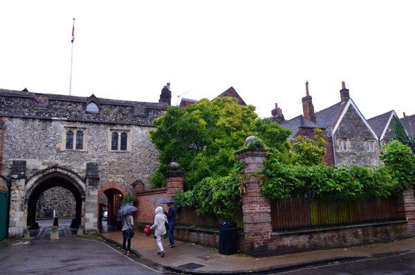 Um dia em Winchester