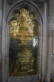 Catedral de Winchester - Jane Austen