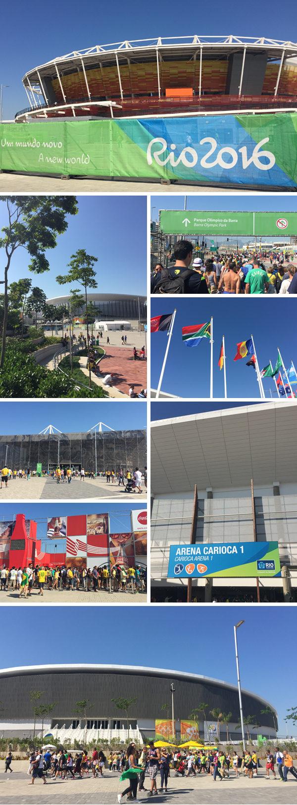 Parque olimpico Rio 2016