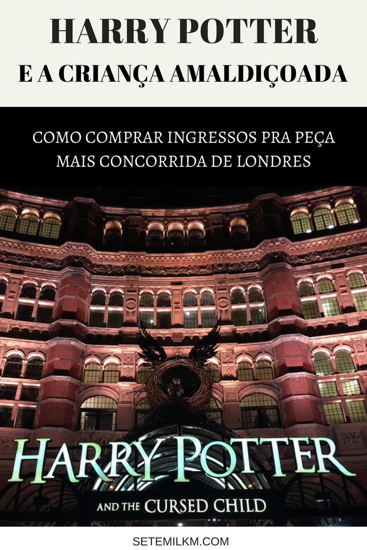Também quer assistir Harry Potter e a Criança Amaldiçoada? Vem ver como conseguir ingressos pra peça mais concorrida de Londres!