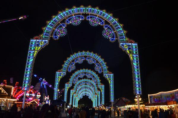 Winter Wonderland mercado de natal em Londres