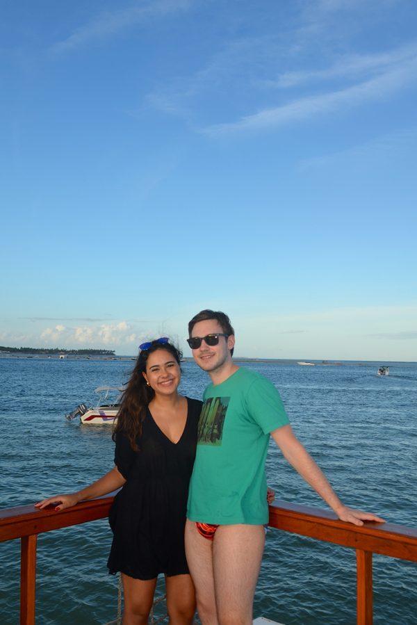 Passeio catamarã Praia dos Carneiros