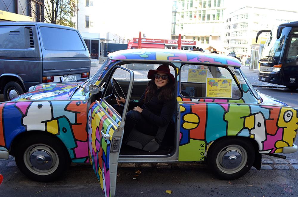 Passeio de Trabant em Berlim