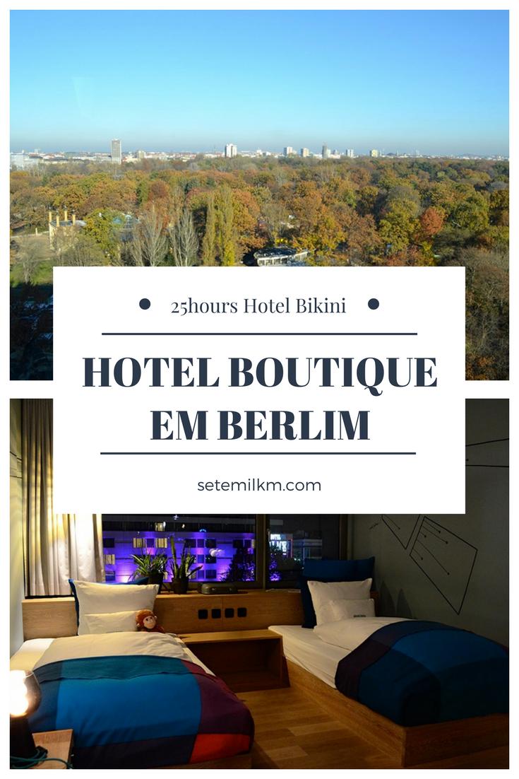 O 25hours Hotel Bikini é uma ótima opção de hotel boutique em Berlim. Localização de fácil acesso, mega confortável e ainda por cima tem um design incrível!
