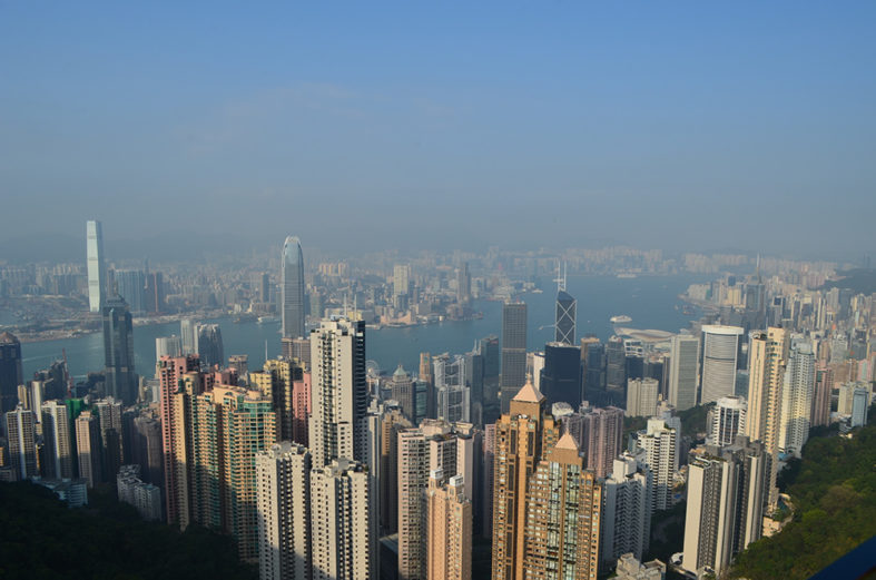 Hong Kong vista do The Peak