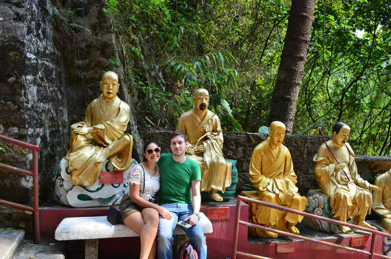 Mosteiro dos Dez Mil Budas em Hong Kong