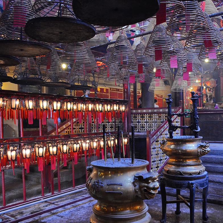 Man Mo Temple em Hong Kong
