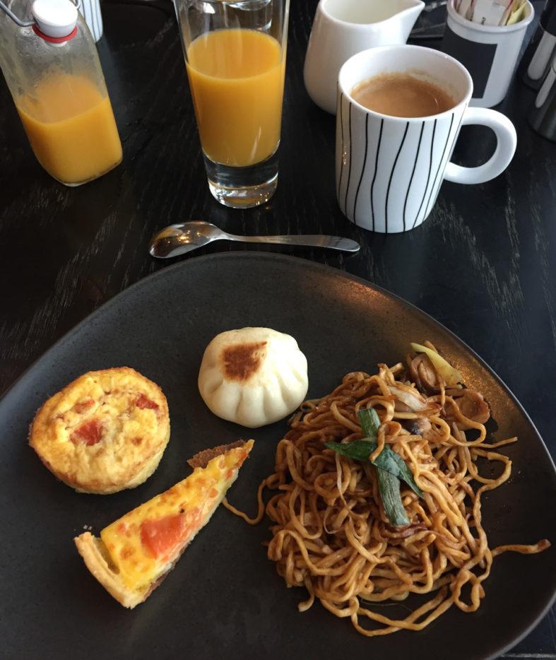 W Hotel Hong Kong - café da manhã