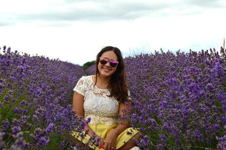 Mayfield Lavender Farm, campo de lavanda em Londres