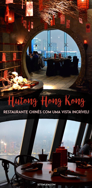Hutong - Restaurante chinês com uma vista incrível de Hong Kong!