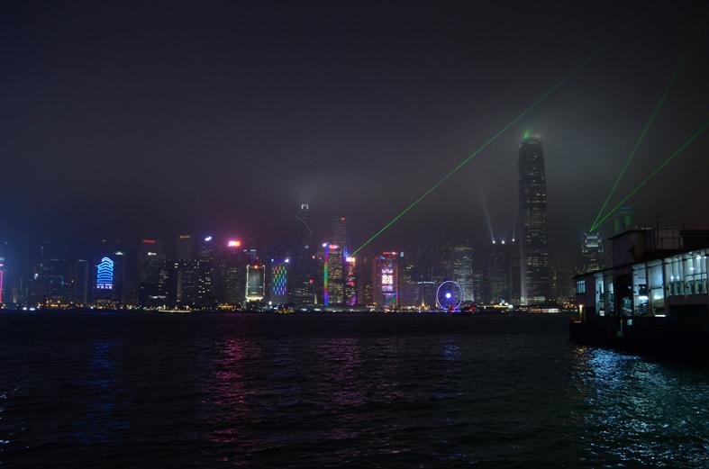 Hong Kong - Atrações de Kowloon: A Symphony of Lights (Sinfonia das Luzes)