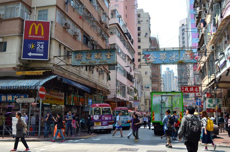 Hong Kong - Atrações de Kowloon - Mong Kok