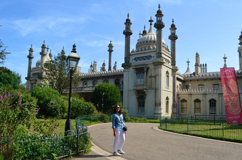 Palácio Real de Brighton - Sete Mil Km - Um dia em Brighton