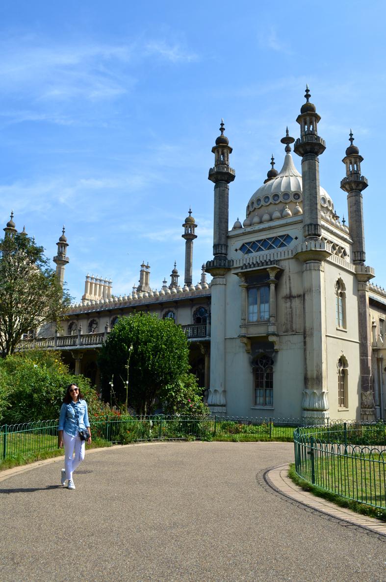 Royal Pavilion em Brighton - Sete Mil Km - Um dia em Brighton
