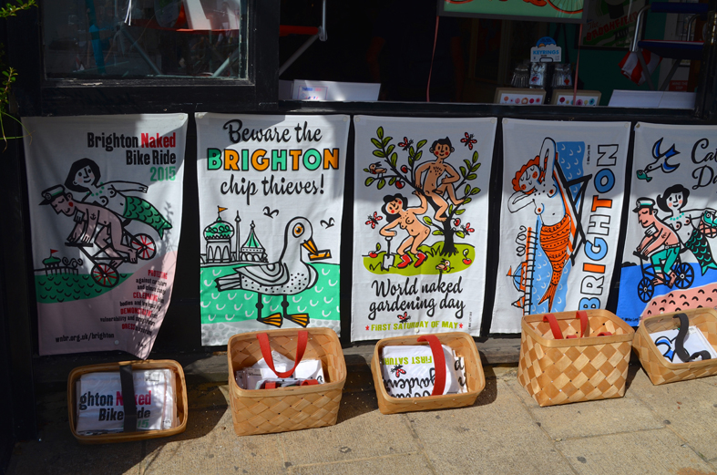 Loja de artesanato em Brighton - Sete Mil Km - Um dia em Brighton