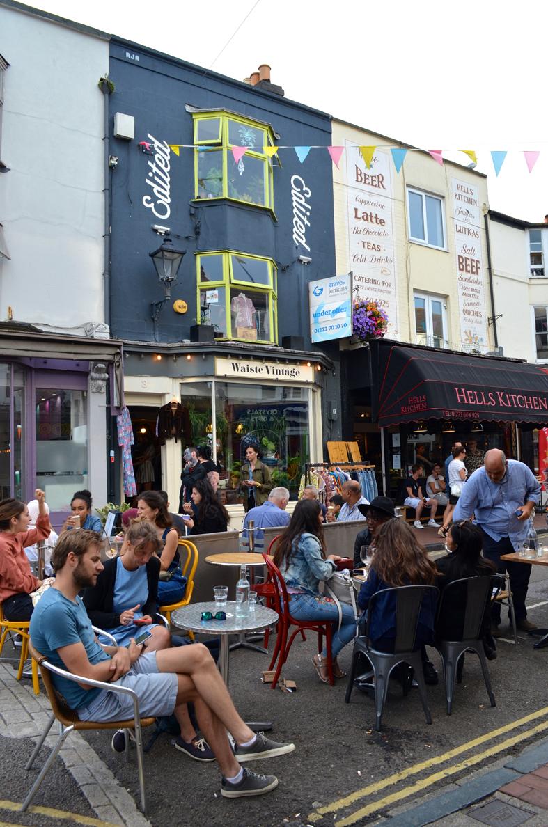 The Lanes, lojas em Brighton - Sete Mil Km - Um dia em Brighton