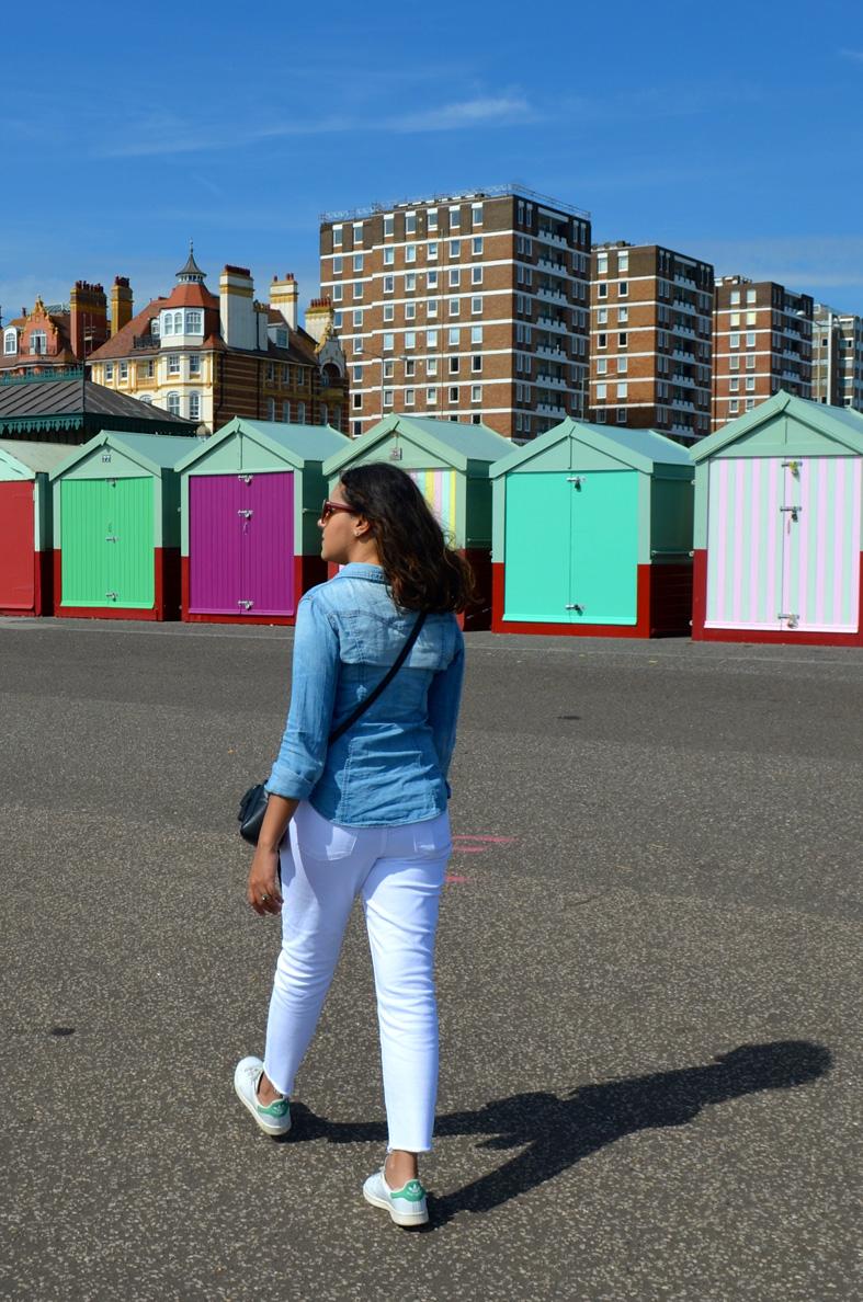 Casinhas de praia coloridas em Brighton - Sete Mil Km - Um dia em Brighton