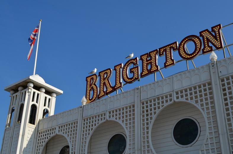 Pier de Brighton - Sete Mil Km - Um dia em Brighton