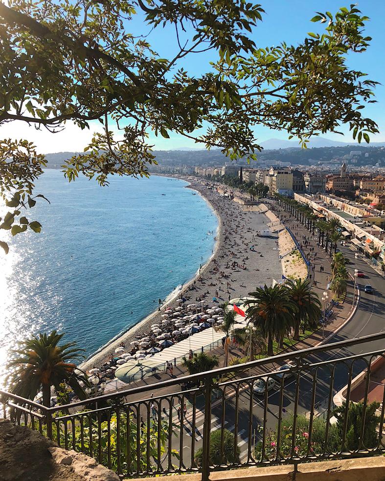 Colline du Chatêau em Nice