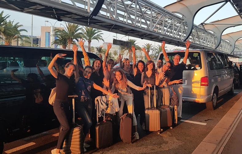 Grupo em Nice