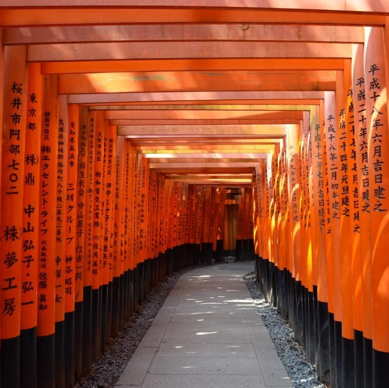 Fushimi Inari, Japao