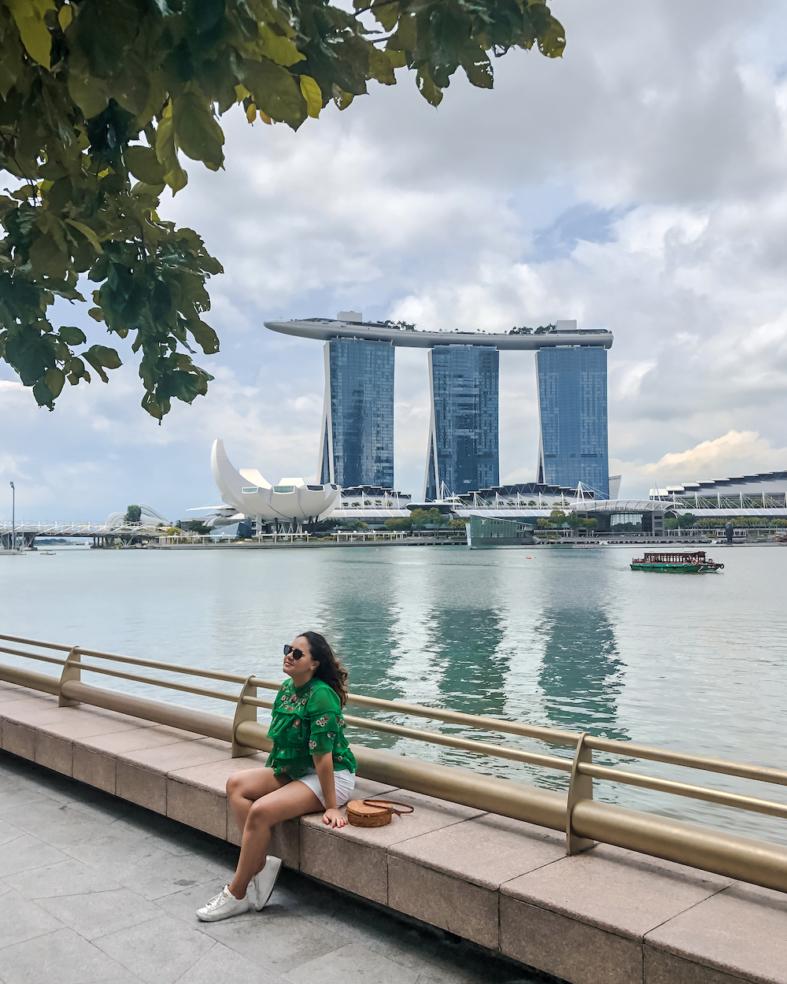 Singapura - Marina Bay Sands - Sete Mil Km - Thais Nascimento